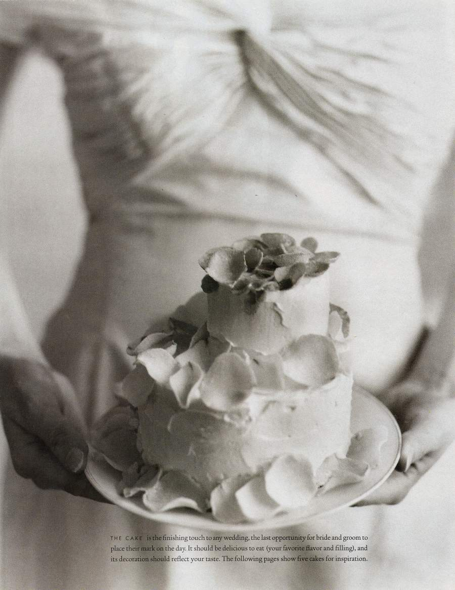 Cakes - An article in Martha Stewart Weddings - Page 1