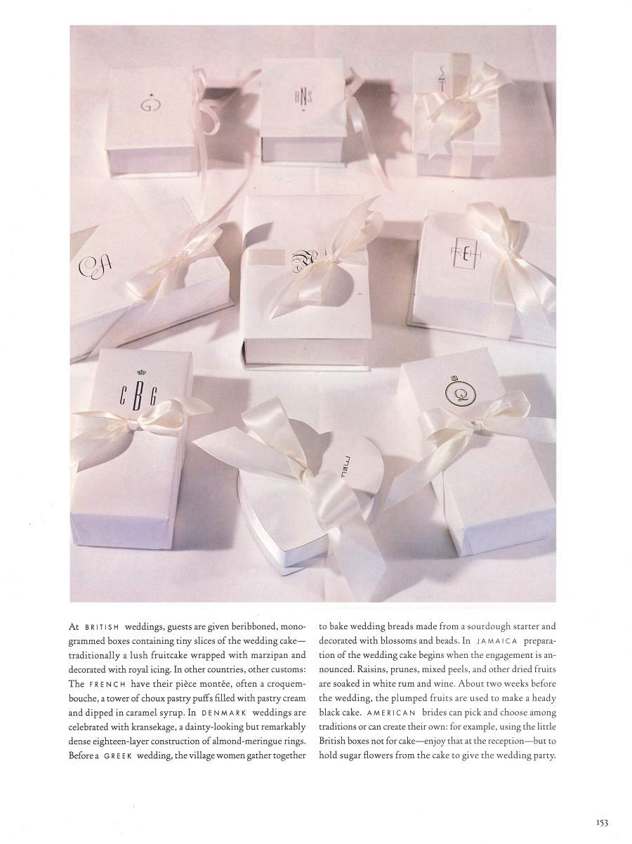 Cakes - An article in Martha Stewart Weddings - Page 4