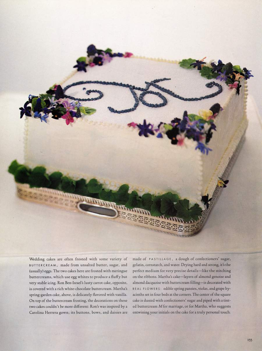 Cakes - An article in Martha Stewart Weddings - Page 6