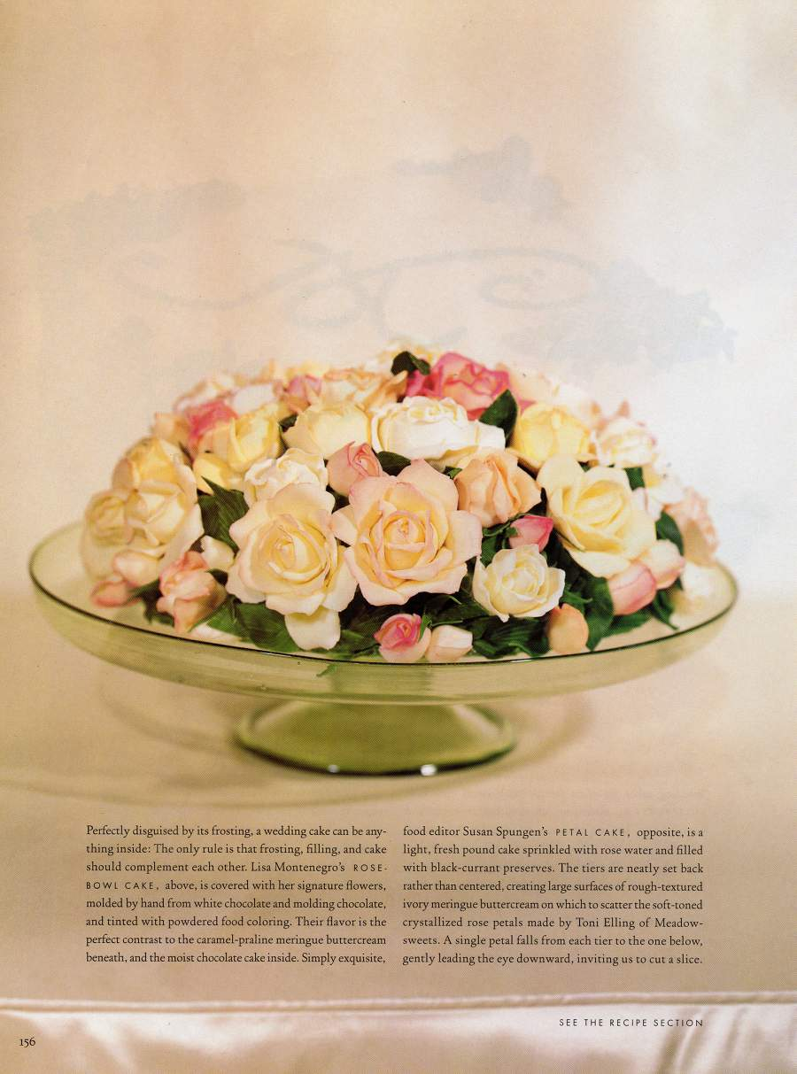 Cakes - An article in Martha Stewart Weddings - Page 7