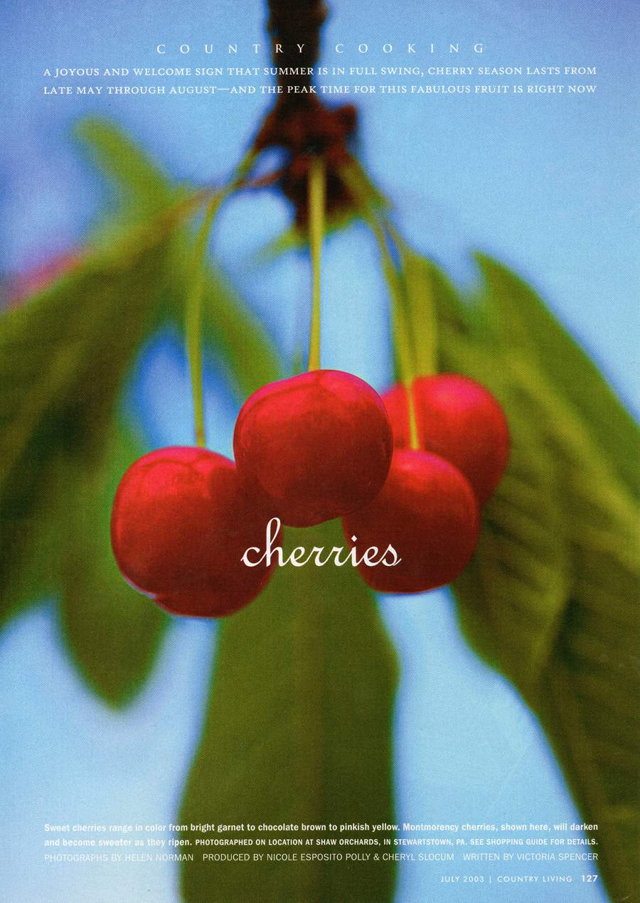 Cherries - An article from Country Living - Page 1