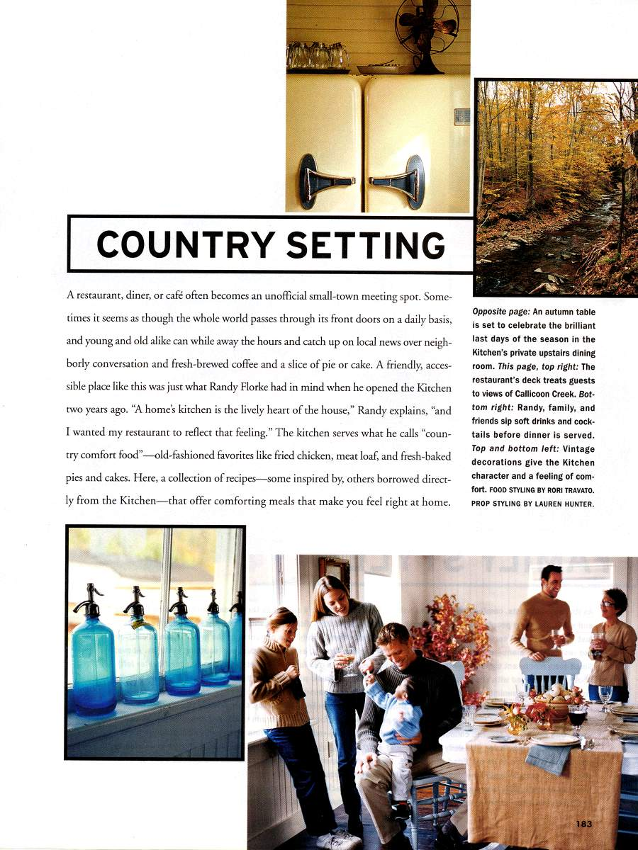 Comfort Food - An article in Country Living - Page 2