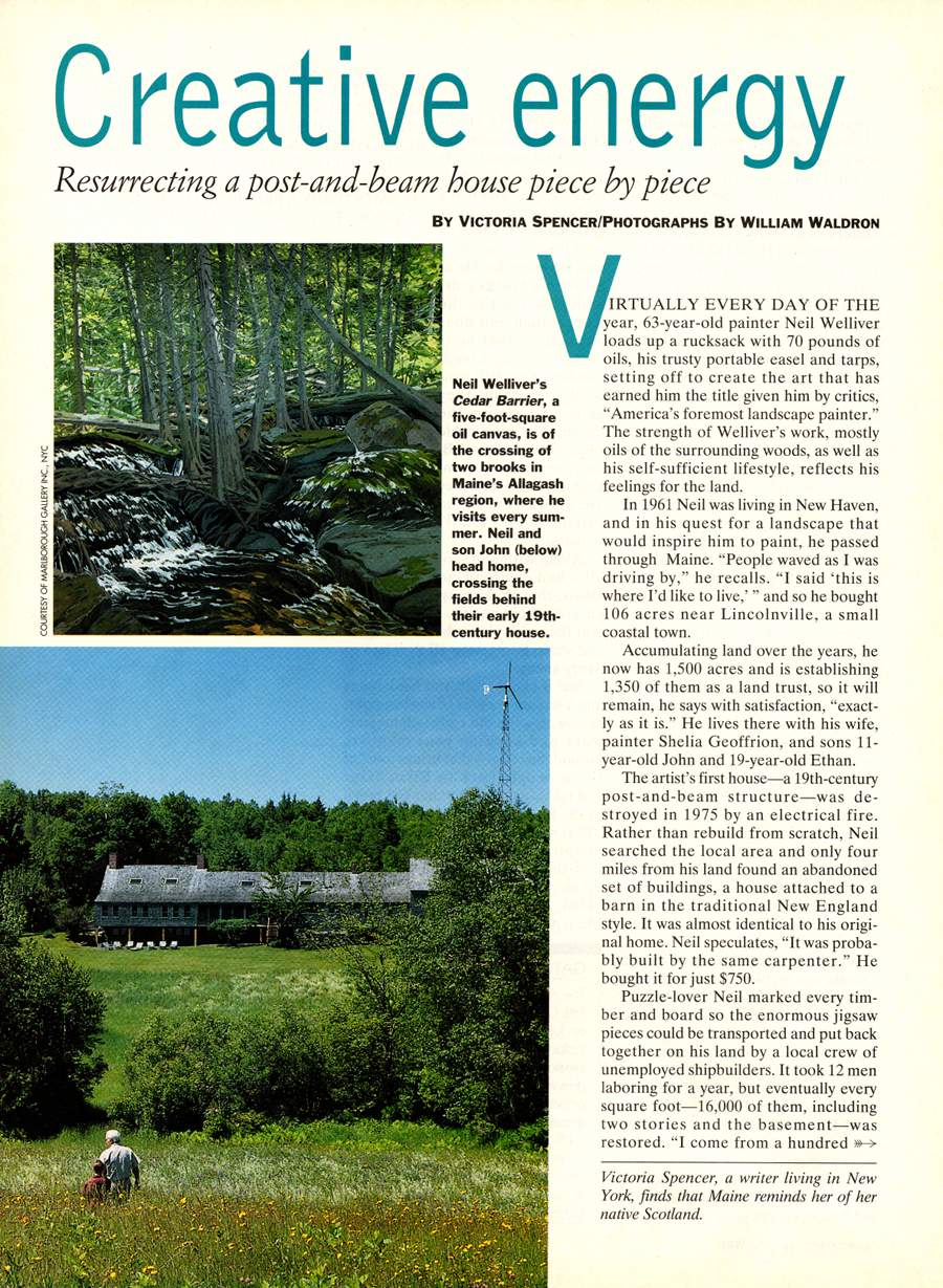 Creative Energy - An article from Countryside - Page 1