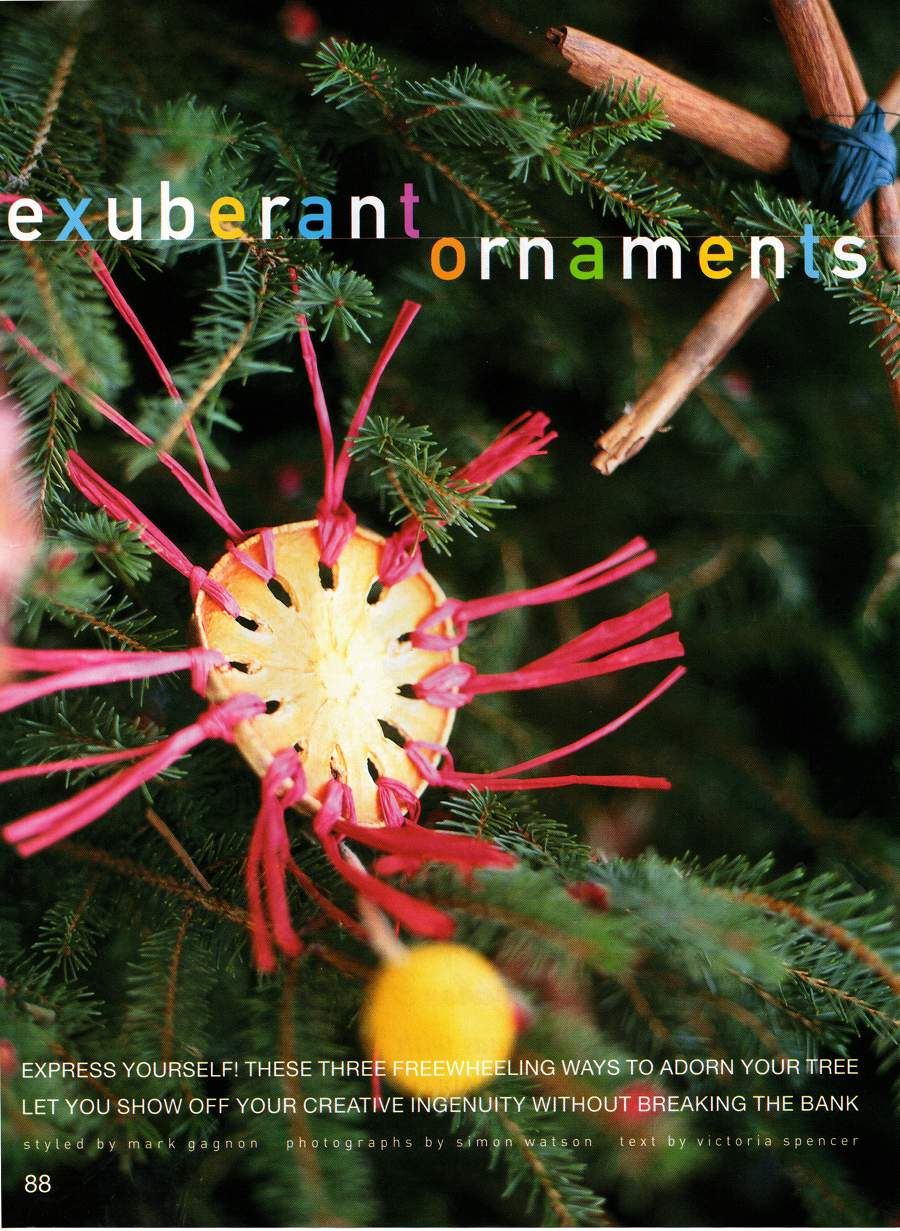 Exuberant Ornaments - An article from B. Smith Style - Page 1