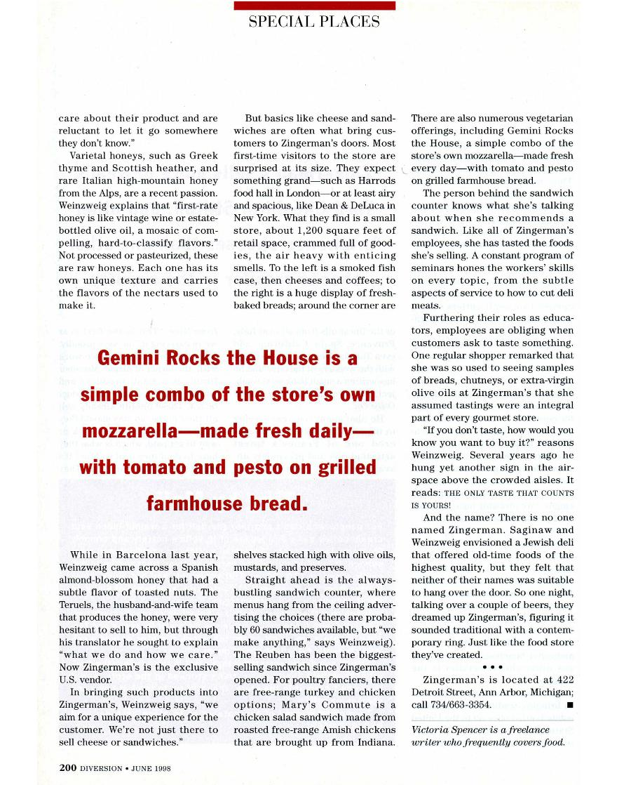 Gourmet Heaven - An article in Diversion - Page 3