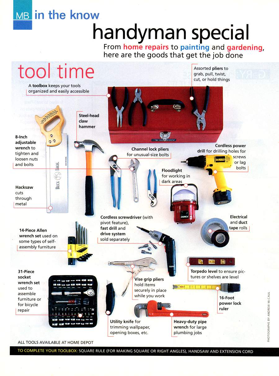 Handyman Special - An article from Modern Bride - Page 1