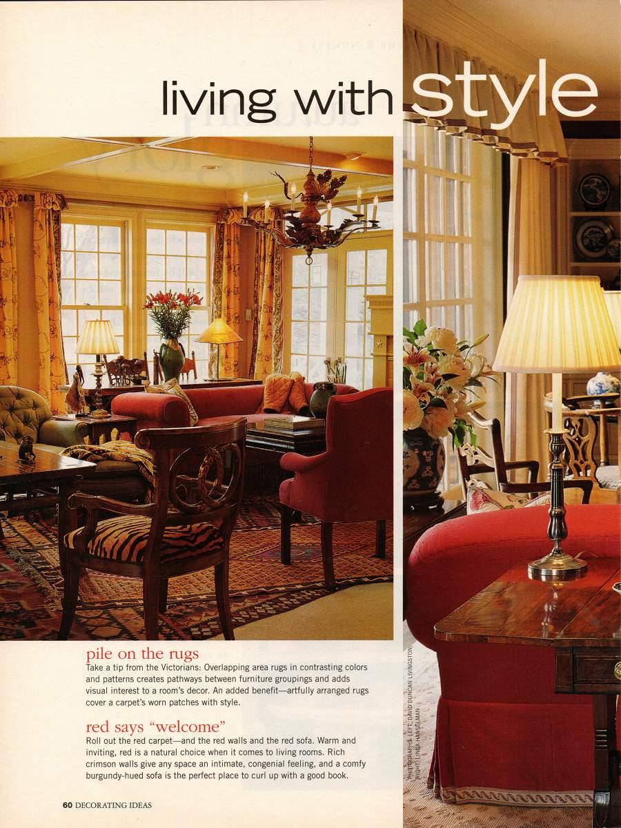 Living with Style - An article from Decorating Ideas - Page 1