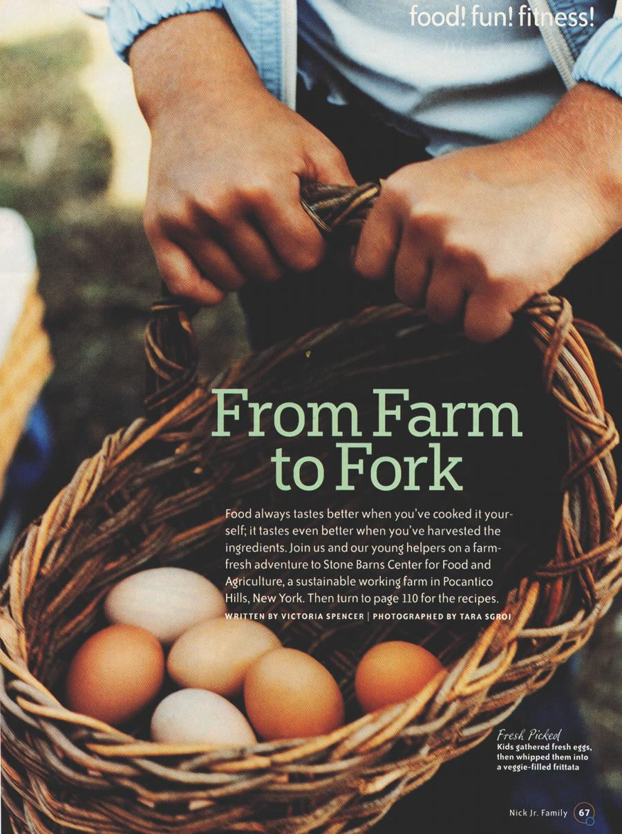 From Farm to Fork - An article from Nick Jr Family - Page 1