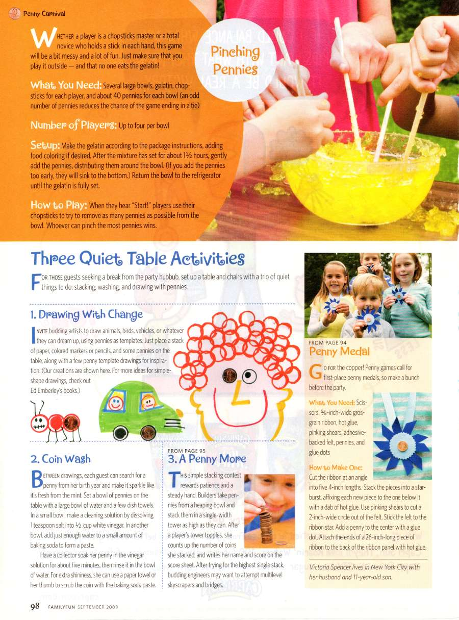 Penny Carnival - An article from Family Fun - Page 6