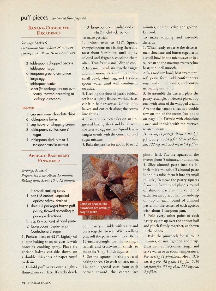 Puff Pieces - An article in Holiday Baking - Page 2